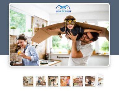 Vous pouvez procurer une carte cadeaux de Votre Inspection comme dans l'image